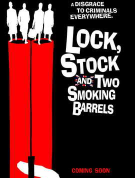 Lock, Stock and 2 Smoking Barrels - 27 x 40 Movie Poster - UK Style A