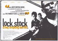 Lock, Stock and 2 Smoking Barrels - 11 x 17 Movie Poster - Style B - Museum Wrapped Canvas