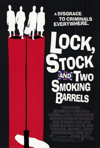 Lock, Stock and 2 Smoking Barrels - 11 x 17 Movie Poster - Style C - Museum Wrapped Canvas