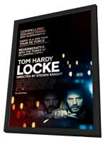 Locke - 27 x 40 Movie Poster - Style A - in Deluxe Wood Frame