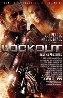 Lockout - DS 1 Sheet Movie Poster - Style A