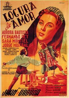 Locura de amor - 27 x 40 Movie Poster - Spanish Style A