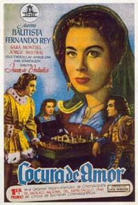 Locura de amor - 27 x 40 Movie Poster - Spanish Style B