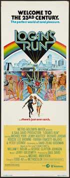 Logan's Run - 14 x 36 Movie Poster - Insert Style B
