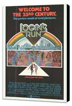Logan's Run - 27 x 40 Movie Poster - Style C - Museum Wrapped Canvas