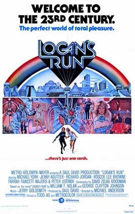 Logan's Run - 11 x 17 Movie Poster - Style A