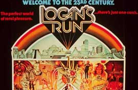 Logan's Run - 11 x 14 Movie Poster - Style S