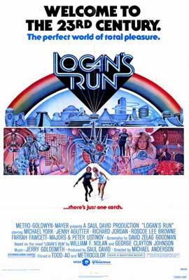 Logan's Run - 27 x 40 Movie Poster - Style A