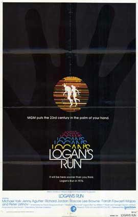 Logan's Run - 11 x 17 Movie Poster - Style B