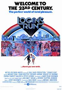 Logan's Run - 43 x 62 Movie Poster - Bus Shelter Style A