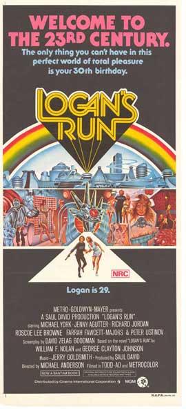 Logan's Run - 27 x 40 Movie Poster - Style B
