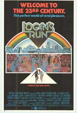 Logan's Run - 27 x 40 Movie Poster - Style C