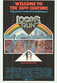 Logan's Run - 43 x 62 Movie Poster - Bus Shelter Style C