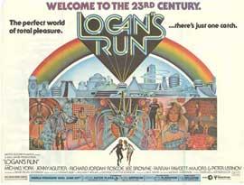 Logan's Run - 27 x 40 Movie Poster - Style H