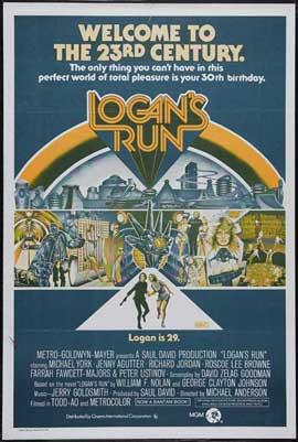 Logan's Run - 27 x 40 Movie Poster - Style K