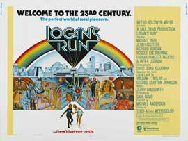 Logan's Run - 22 x 28 Movie Poster - Half Sheet Style A