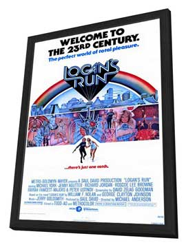 Logan's Run - 11 x 17 Movie Poster - Style A - in Deluxe Wood Frame
