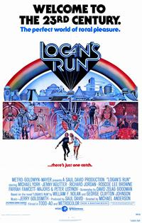 Logan's Run - 11 x 17 Movie Poster - Style A - Museum Wrapped Canvas