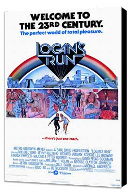 Logan's Run - 27 x 40 Movie Poster - Style A - Museum Wrapped Canvas
