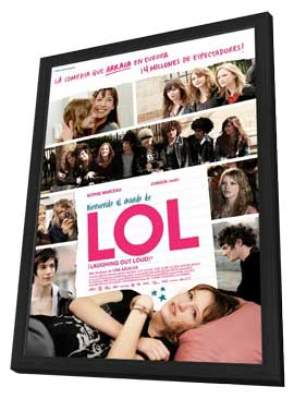 Lol - 11 x 17 Movie Poster - Spanish Style A - in Deluxe Wood Frame