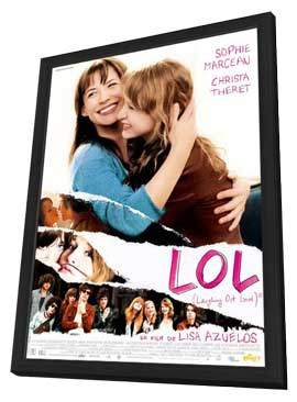 Lol - 27 x 40 Movie Poster - French Style A - in Deluxe Wood Frame