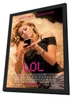 LOL - 11 x 17 Movie Poster - Style B - in Deluxe Wood Frame