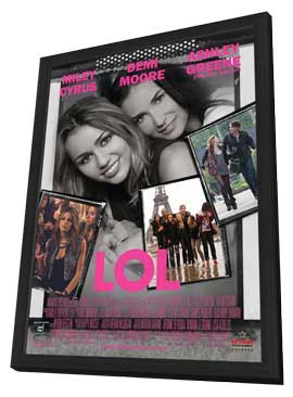 LOL - 11 x 17 Movie Poster - Style A - in Deluxe Wood Frame