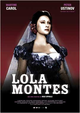 Lola Montes - 11 x 17 Movie Poster - Spanish Style A