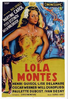 Lola Montes - 27 x 40 Movie Poster - Belgian Style A