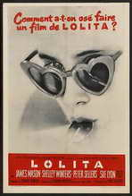 Lolita - 27 x 40 Movie Poster - French Style B