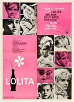 Lolita - 27 x 40 Movie Poster - Italian Style A