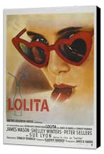 Lolita - 11 x 17 Movie Poster - French Style A - Museum Wrapped Canvas