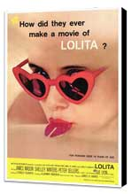 Lolita - 27 x 40 Movie Poster - Style A - Museum Wrapped Canvas