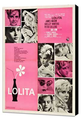 Lolita - 11 x 17 Movie Poster - Italian Style A - Museum Wrapped Canvas