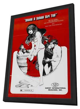 Lolita - 11 x 17 Movie Poster - Style A - in Deluxe Wood Frame