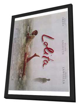 Lolita - 27 x 40 Movie Poster - Style A - in Deluxe Wood Frame