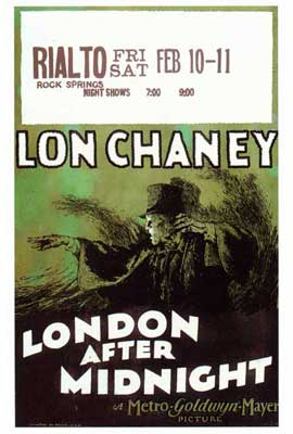 London After Midnight - 27 x 40 Movie Poster - Style A