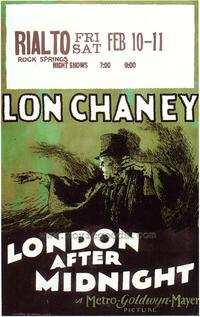 London After Midnight - 43 x 62 Movie Poster - Bus Shelter Style A