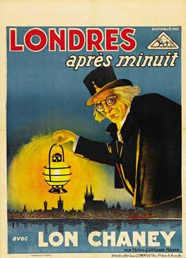 London After Midnight - 27 x 40 Movie Poster - Style C