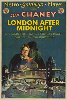 London After Midnight - 11 x 17 Movie Poster - Style D