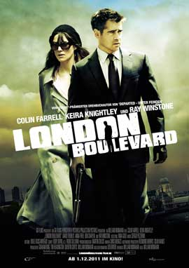 London Boulevard - 11 x 17 Movie Poster - German Style A