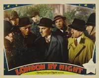 London by Night - 11 x 14 Movie Poster - Style F