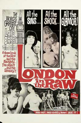 London in the Raw - 11 x 17 Movie Poster - Style A
