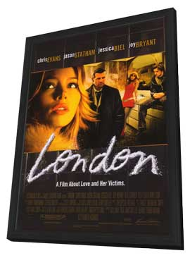 London - 27 x 40 Movie Poster - Style A - in Deluxe Wood Frame