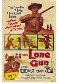Lone Gun - 11 x 17 Movie Poster - Style A