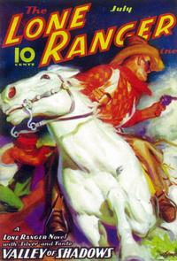 Lone Ranger, The (Pulp) - 11 x 17 Pulp Poster - Style A