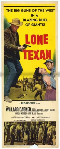 Lone Texan - 14 x 36 Movie Poster - Insert Style A