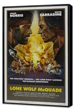 Lone Wolf McQuade - 27 x 40 Movie Poster - Style C - Museum Wrapped Canvas