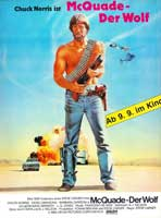 Lone Wolf McQuade - 11 x 17 Movie Poster - German Style A
