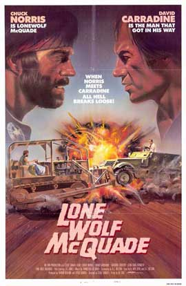 Lone Wolf McQuade - 11 x 17 Movie Poster - Style A